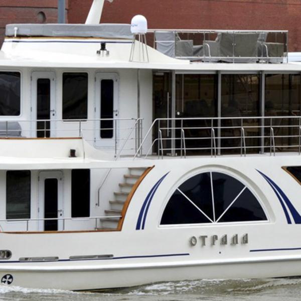 арендовать яхту Отрада